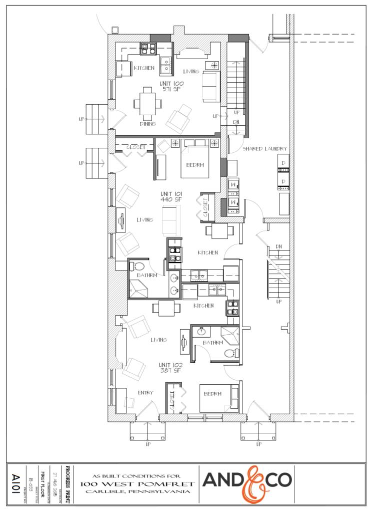 100 W. Pomfret Street, Carlisle Waveland Properties